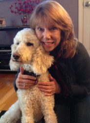 Penny the Poodle with Patty